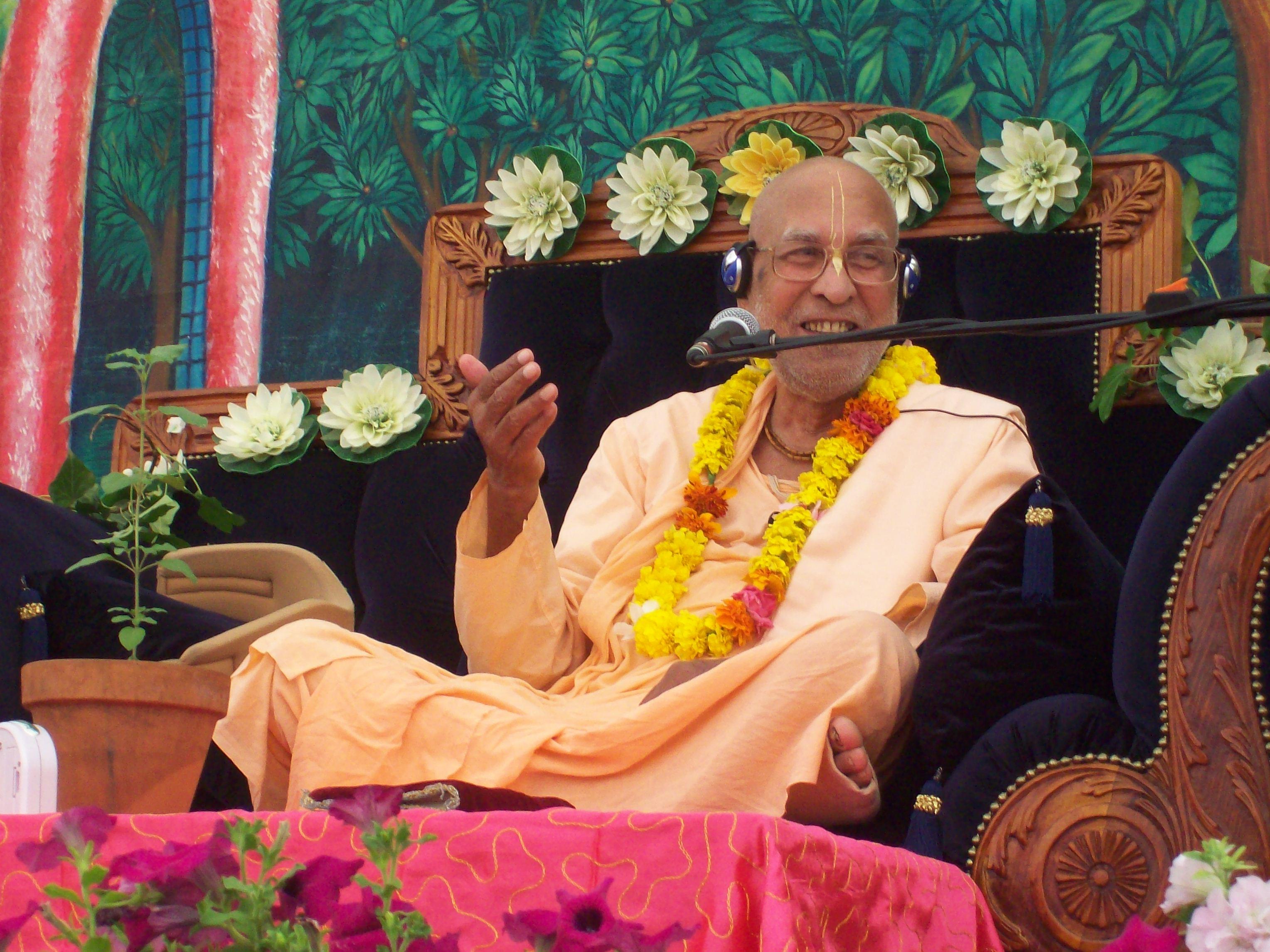 Tridandisvami Sri Srimad BV Narayana Gosvami Maharaja