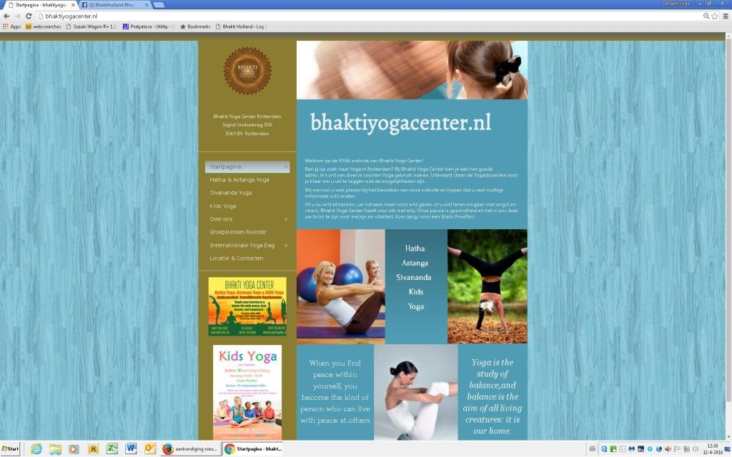 bhaktiyogacenter website