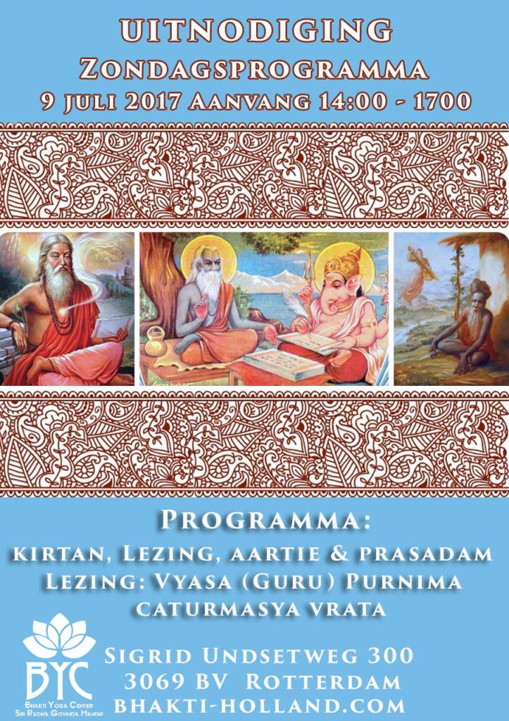 Vyasa purnima Caturmasya 09092017